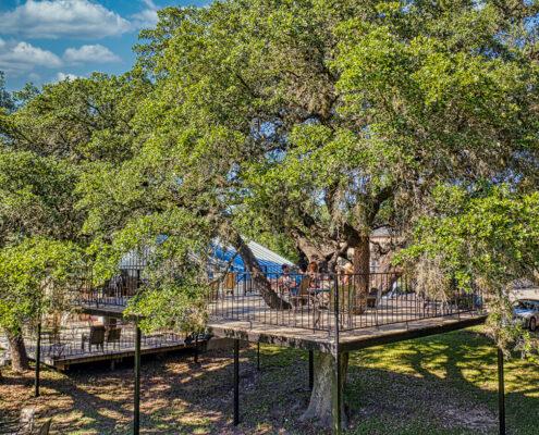 Tree house - Upper deck